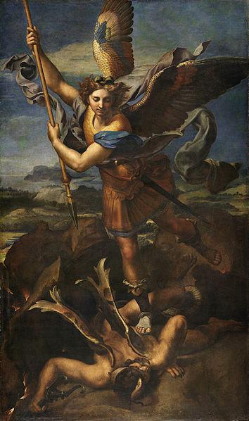 Works of Art that Shaped the World Tv Series - St. Michael Vanquishing Satan by Rafael